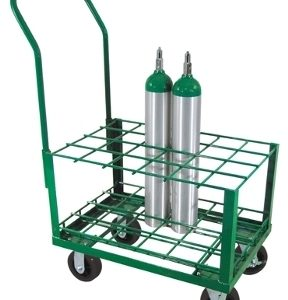 "Oxygen Tank Cart for Port A Cylinder for 24 ""E"" Cylinders - MES-0070"