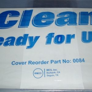 """Clean Ready for Use"" Plastic Wheelchair Equipment Bags/Covers 28 x 22 x 56"" (50 Bags/Roll) - MES-0084"