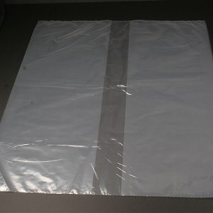 """Clear Plastic Equipment Cover for IV poles, cylinder carts - 12 x 8 x 21"""" (250/Box) - MES-0119"""
