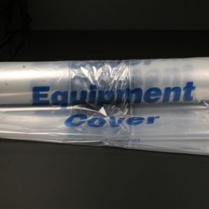 "Clear Plastic Equipment Cover for Treatment Carts, Crash Carts & other larger pieces, 48 x 25 x 42"" (50/Roll) - MES-0125"