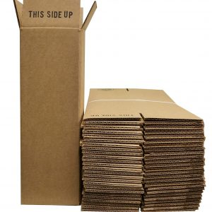 1 Bottle Wine/Champagne Shipping Boxes (24 Boxes)