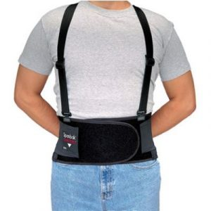 Back Support Belt - Medium  Spanbak Back Support Belt - (1 Support) - SAFETY-AL-7190-02