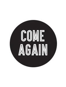 Black Come Again Stickers (Pack of 30) - STOR-15911