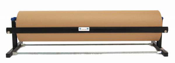 "Kraft Paper Dispenser - Horizontal - with Smooth Blade - Fits 48"" Roll (1 Dispenser) - EP-5920-48"