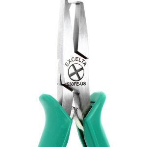 "Cut and Clinch Pliers - 5"" Carbon Steel Anti Shock Standoff Shear Cutter/Bender Pliers - EX-530FE-US"
