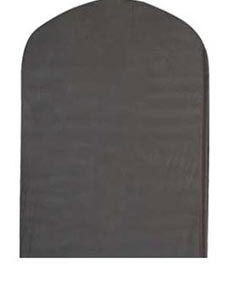 "Black 40"" Polyester Suit Covers (25/Pack) - STOR-27205"