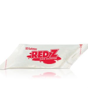 Red Z Spill Control Solidifier 1000cc Single Use Pour-in Pouches (100 Pouches/Case) - SFTC-41131