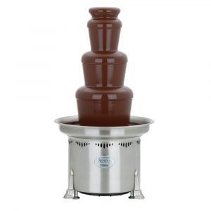 """Sephra Chocolate Fountain 27""""H 110/120 Volt Stainless Steel - HUB-46006"""