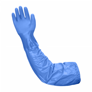 "Atlas Gloves - 26"" Triple-Dipped PVC Glove W/Extra Long Vinyl Sleeve (Size: M) (12 Pairs of Gloves)"
