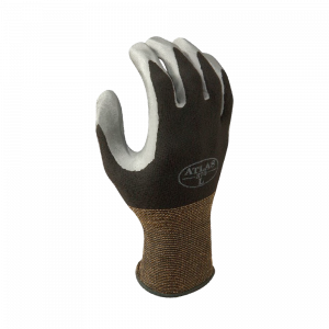 Atlas Gloves - Light Weight Palm Coated - Assembly Grip B - Nitrile Palm Dipped - Nylon Shell (Size: M) (12 Pairs of Gloves)