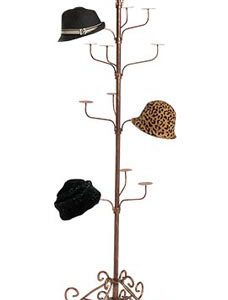Boutique Cobblestone 5-Tier Hat Display Rack - STOR-60591