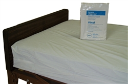 "52 x 80 x 8"" Vinyl Cover/Bag for Large Bariatric Mattress (6/Box) - MES-6067"
