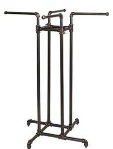 4-Way Clothing Rack - Pipeline Collection - STOR-60700