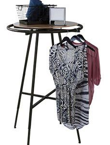 Vintage Boutique Round Clothing Rack - STOR-60811