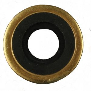 Washers for Cylinder Valves: Brass with Neoprene Sure Seal washers, 100/pkg