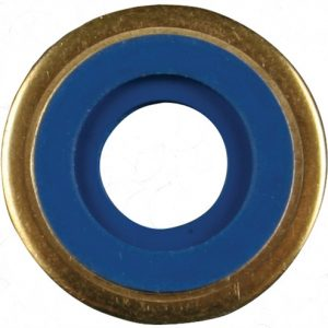 Washers for Cylinder Valves: Brass with Viton Sure Seal washers, 100/pkg