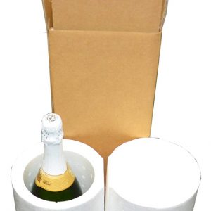 Magnum Extra Large 1 Bottle Wine/Champagne Shipping Cooler