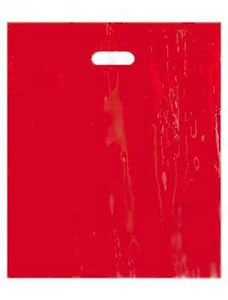 Large Red Low Density Merchandise Bag (500 Bags/Case) - STOR-90423