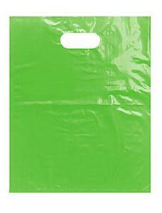 Medium Clearly Lime Low Density Merchandise Bag (1000 Bags/Case) - STOR-90441