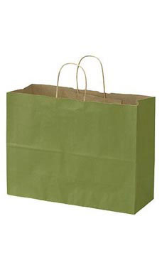 Large Rain Forest Paper Shopping Bag (100 Bags/Case) - STOR-92334