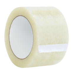 """Carton Sealing Tape - Acrylic (Clear) - 110 yds Length, 2 mil Thickness, 3"""" Width (24 Rolls)"""