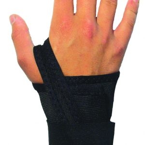 Wrist Support - Right/Large Wrist Support Single Elastic Strap - SAFETY-IO-EL40-LR
