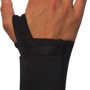 Wrist Support - Right/Large  Double Strap Wrist Support Retrainer - SAFETY-IO-EL41-LR