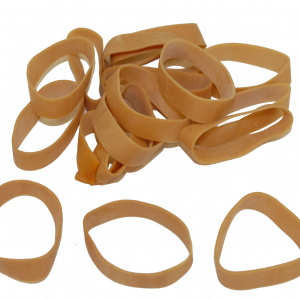 """Industrial Rubber Bands - Standard Size Bands - 2-1/2"""" x 1/2"""", Size 82 (Approx. 230/Bag) (25lbs/Case) (1 Case) - EP-4082"""
