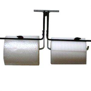 """Bubble Dispenser - Double-Arm Unit Wall Mount sith Slide Cutter - Fits 24"""" Roll (1 Dispenser) - EP-6050D-24"""