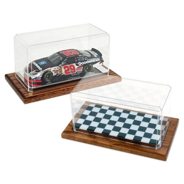 """9"""" x 4.38"""" x 4.13"""" - 1:24 Scale Model Checkered Display Case - FG-MDCP94CCHECK"""