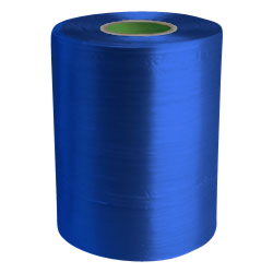 Twine - PP Film Tape Twine - Blue - 8430', Size: D-17, 19 lbs Tensile, 2# tube (20 Tubes)