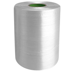 Twine - PP Film Tape Twine - Clear - 8430', Size: D-17, 19 lbs Tensile, 2# tube (20 Tubes)
