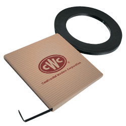 """Steel Strap - Mini Coils - 1/2"""" X 200', .02 Thickness, Painted/Waxed Finish, 1223 lbs Tensile (1 Coil)"""