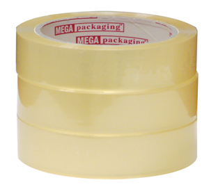 """1"""" x 72 yds. Clear Cellophane Stationary Tape (72 Rolls)  - TAP-S2472"""