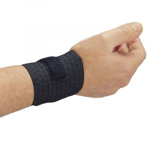 Wrist Support -  Black Rist Rap (2 Pairs) - SAFETY-AL-7211