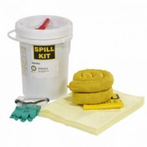 5-Gallon Yellow Hazmat Spill Kit (1 Kit) - COM-AB-SPKHZ5