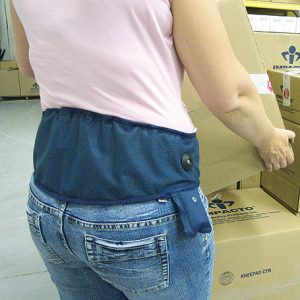 Back Support Belt - Large  CP Lumbar Support Comfort Plus Air Belt - (1 Support) - SAFETY-IO-CP-L