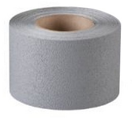 """2"""" x 60' Gray Coarse Resilient Slip-Resistant Tape - (1 Roll) - SAFETY-ID-PFX2102G"""