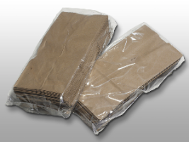 """12 X 8 X 24"""" 1.5 Mil Gusseted Poly Bag (500 Bags)"""