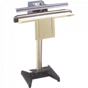 "Impulse Bag Sealer - 12"" Seal Length 5mm Seal Width Top and Bottom Self Standing Foot Operated Sealer - HIW300/5T"