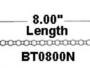 "8"" Beaded Cable Ties (2000 Cable Ties) - BT0800N"