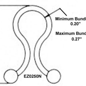 "1/4"" Diameter EZ-Twist-Locks (2000 Twist Locks) -EZ0250N"