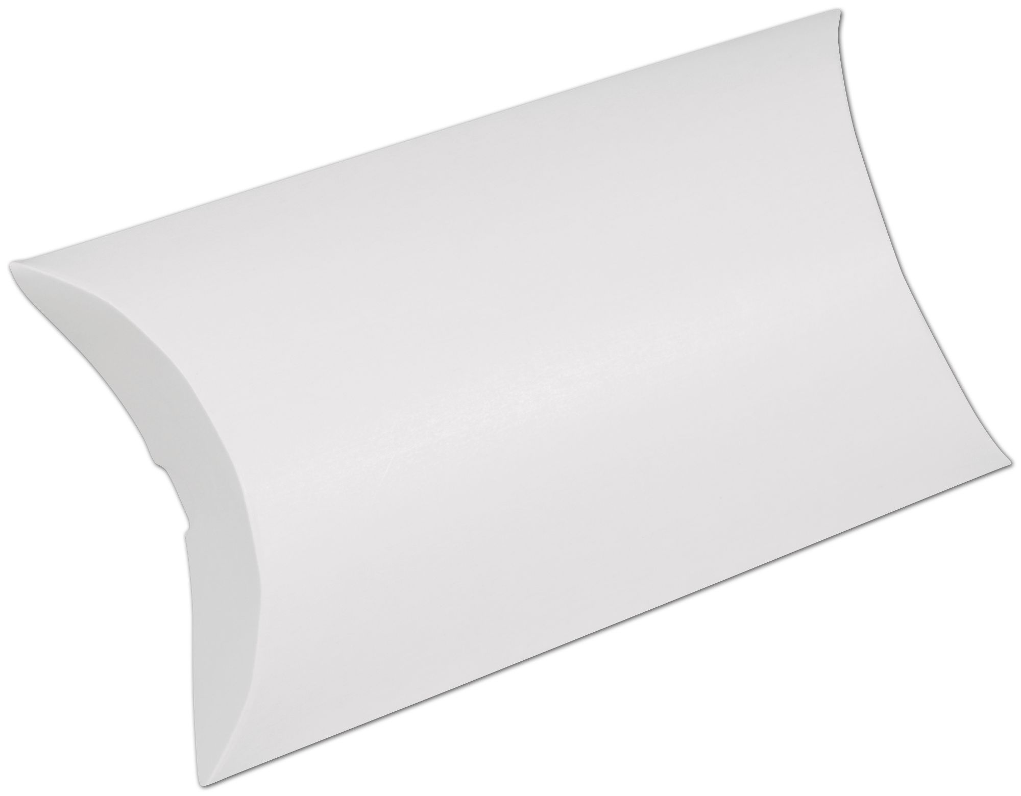 "White Pillow Boxes, 7 x 5 1/2 x 2"" (250 Boxes) - BOWS-255-070502-9"