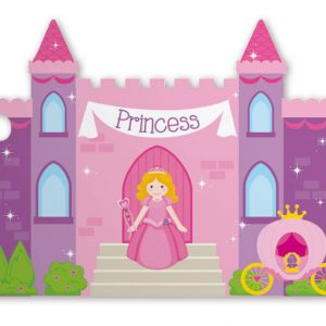 "Princess Castle Intricut Gift Tags, 3 3/4 x 2 3/4"" (3 Packs) (6 Tags/Pack) - BOWS-GC-PC"