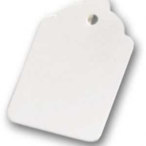 "White Tags, 2 7/8 x 1 3/4"" (1000 Tags) - BOWS-10-221-9"