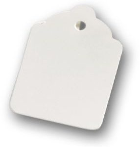 "White Tags, 1 3/4 x 1 1/8"" (1000 Tags) - BOWS-10-224-9"