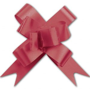 """Red Butterfly Bows, 2"""" (100 Bows) - BOWS-256-02-1"""