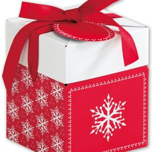 """Presents Please Giftalicious Pop-Up Boxes, 4 x 4 x 4 3/4""""(10 Boxes) - BOWS-4129-PP"""