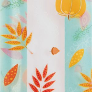 "Blissful Fall Cello Bags, 4 x 2 1/2 x 9 1/2"" (100 Bags) - BOWS-237-040209-FALL"
