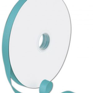 """Grosgrain Turquoise Ribbon, 5/8"""" x 100 Yds (1 Roll) - BOWS-066-5-317"""